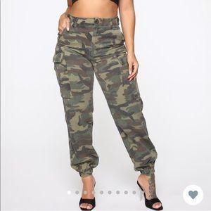 Cadet Kim Oversized Camo Pants